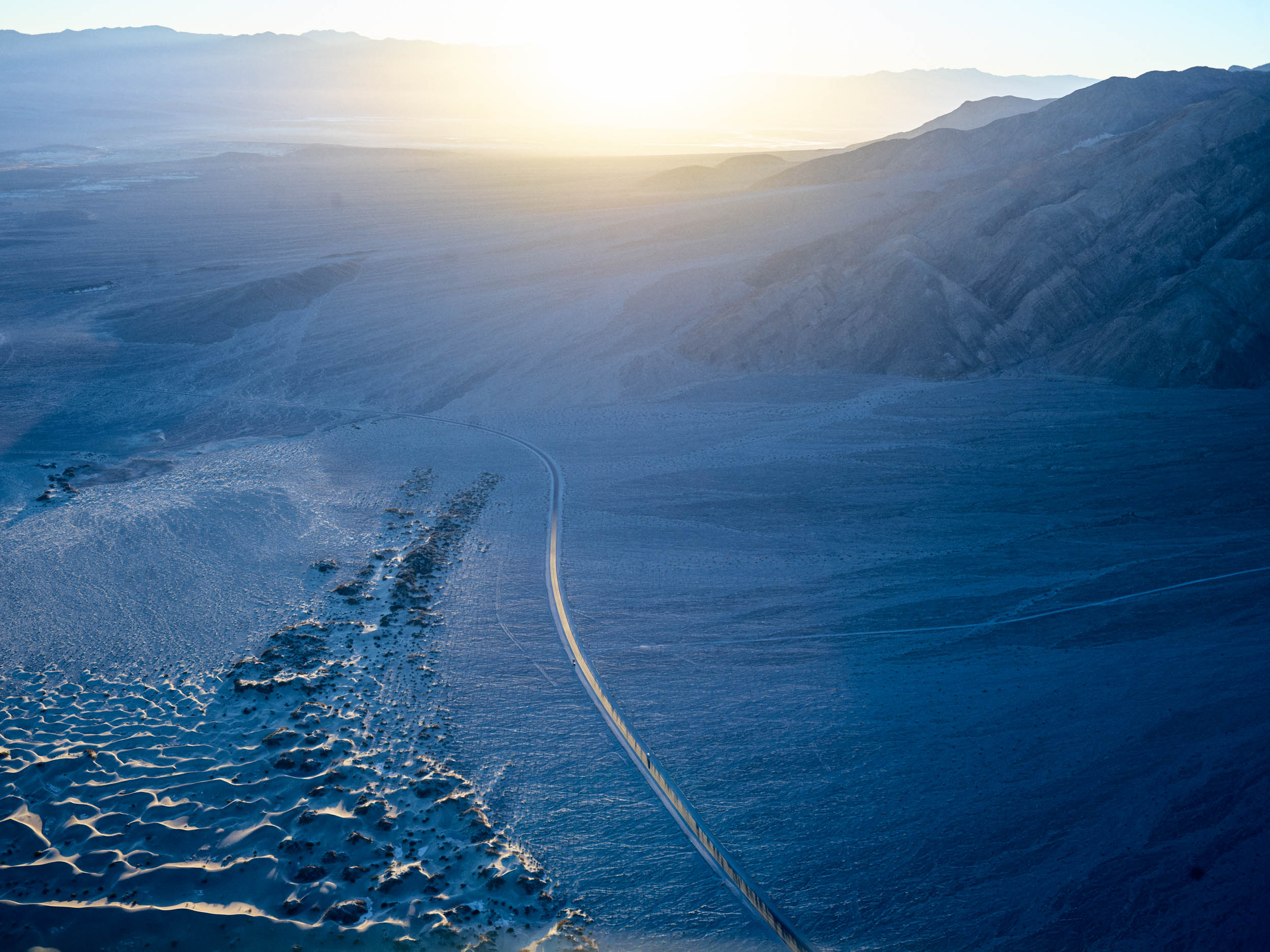sunrise death valley